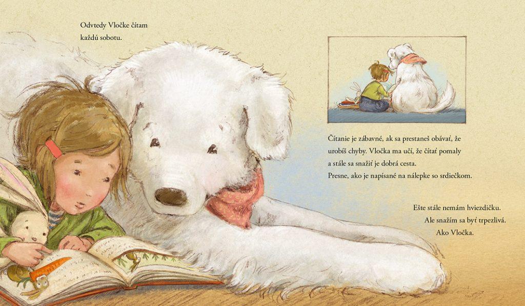 Magdalénka a psík z knižnice – motivačná kniha pre deti