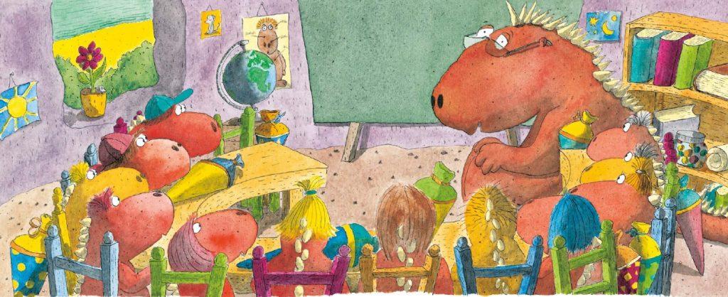 Obľúbený hrdina známej animovanej rozprávky Malý dráčik v knižnej sérii!
